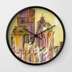 Philadelphia Skyline Wall Clock