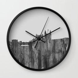 Bath, England Skyline - Navaho B&W Wall Clock