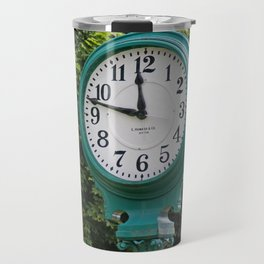 Put-in-Bay Clock I (horizontal) Travel Mug