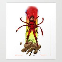 Phoenix Phorce Art Print