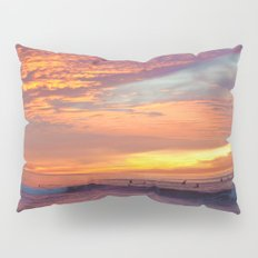 Pink Sunset Pillow Sham