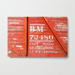 BoxCar BM72480 Metal Print