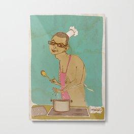 Chef Goldblum Makes it Especial Metal Print