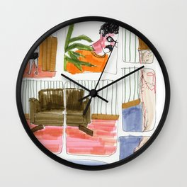 this leads nowhere Wall Clock
