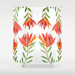 Safari Sunset - Conebush Shower Curtain