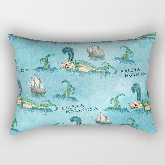 Balena Horrenda Rectangular Pillow