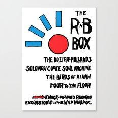 THE R & B BOX Canvas Print