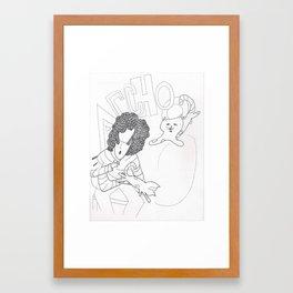 Achoo Framed Art Print