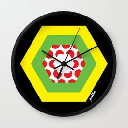 Tour de France Jerseys Wall Clock