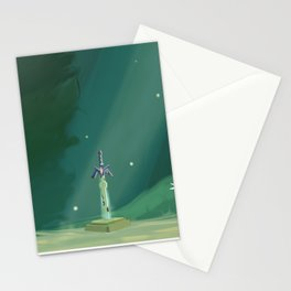 Zelda Master Sword - Breath of the Wild Stationery Cards