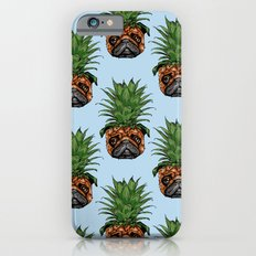 Pineapple Pug iPhone 6 Slim Case