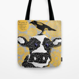Cows, Crows and Prose-JM Tote Bag