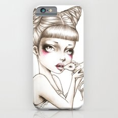 Girl & mouse Slim Case iPhone 6s