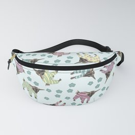 Pajama'd Baby Goats - Blue Fanny Pack