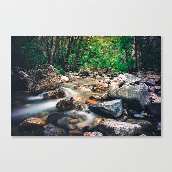 Endless Streams Canvas Print