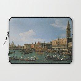 Canaletto Bernardo Bellotto  -  Return Of il Bucintoro On Ascension Day Laptop Sleeve