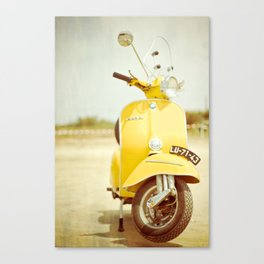 Mod Style in Yellow Canvas Print
