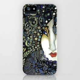 The English Woman iPhone Case