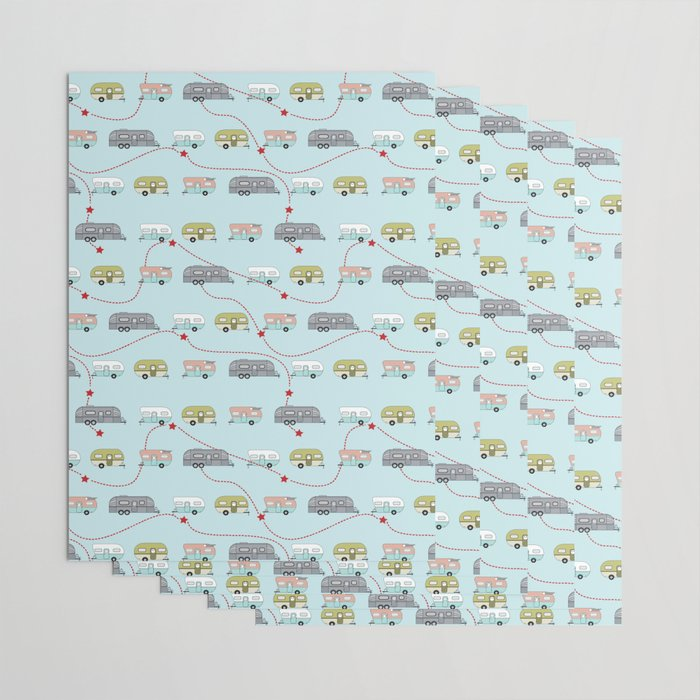 Get Your Kicks Wrapping Paper