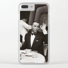 Sinatra and Ed Sullivan at the Eden Roc - Miami - 1964 Clear iPhone Case