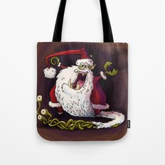 Santa Claws revisited Tote Bag