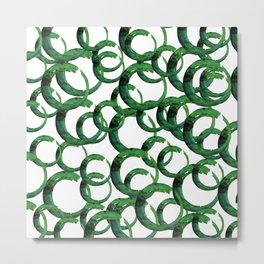 Enso Of Zen 20D by Kathy Morton Stanion Metal Print