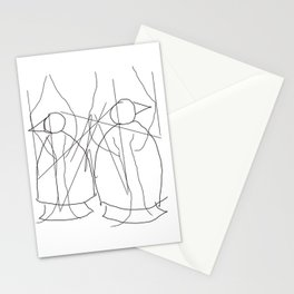 Metaphysical Penguin Tree of Life Stationery Cards