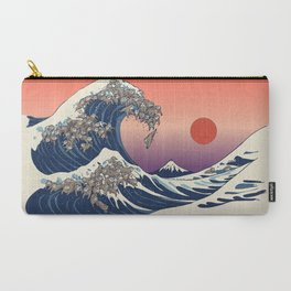 The Great Wave of Sloth Carry-All Pouch