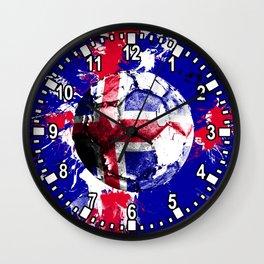football Iceland Wall Clock