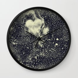 Mysteries of the Heart Wall Clock