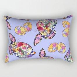 Flower Buns Rectangular Pillow