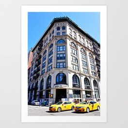 SoHo New York City Street Art Print