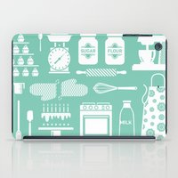 baking iPad Cases featuring Baking Graphic by Modart Design