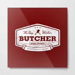 The Bay Harbor Butcher Metal Print
