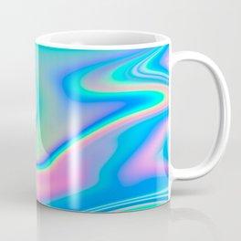 Holographic Iridescent Chill Vibes Coffee Mug