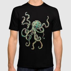 Octopodes Mens Fitted Tee Black SMALL
