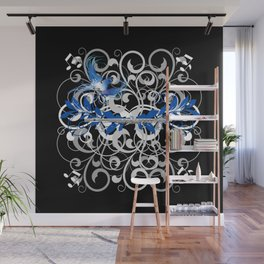 Piccolo Swirls Wall Mural