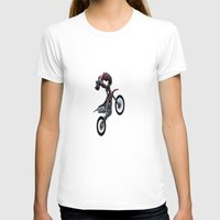 motorbike T-shirts featuring Motorbike-stunt-rider by store2u