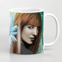fringe Mugs featuring Fringe - Dunhams by Hallowette