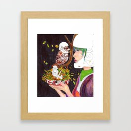 Stormer and his family Framed Art Print