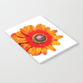 Orange Flower 2 Notebook