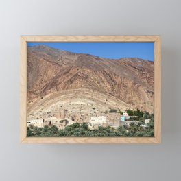 Abandoned Village - Oman Framed Mini Art Print