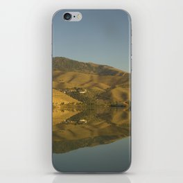 Douro valley Reflections iPhone Skin