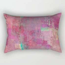 Lake Retba (Lac Rose) Rectangular Pillow