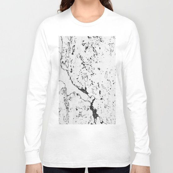 Speckled Marble Long Sleeve T-shirt