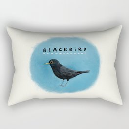 Blackbird Rectangular Pillow