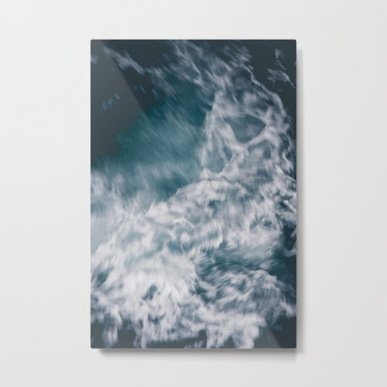 Wild Ocean Waves Metal Print