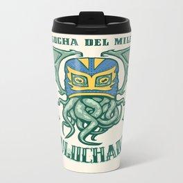 EL CTHULuchador Metal Travel Mug