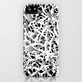 deep structure iPhone Case