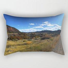 Off the Beaten Path - Glenwood Canyon, CO Rectangular Pillow